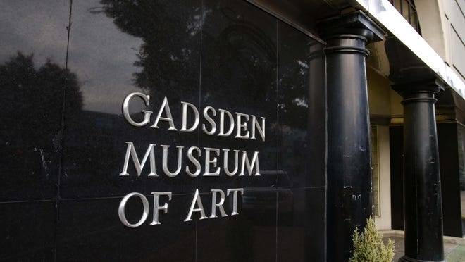 The Gadsden Museum of Art at 515 Broad St. is pictured.