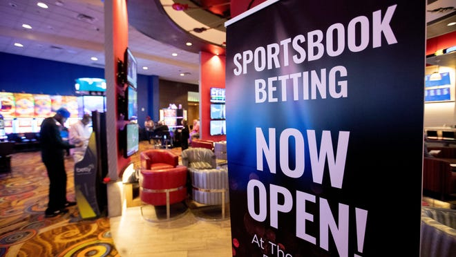 While live sports are mostly suspended, online sportsbooks continue to operate.