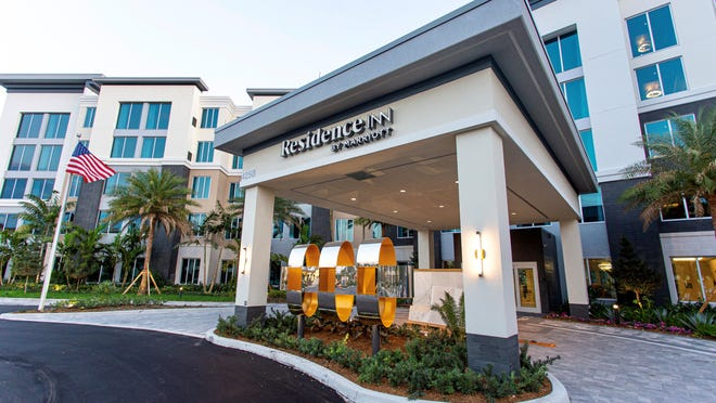 A new Residence Inn by Marriott extended stay hotel is expected to open in July in the PGA Station development just south of PGA Boulevard's interchange with Interstate 95.