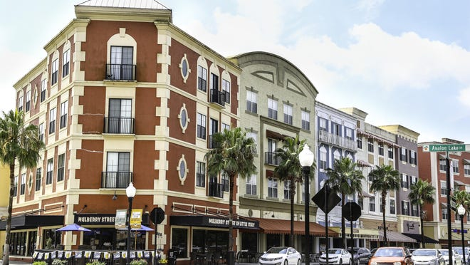 "This is the downtown area at Avalon Park Orlando whose developer is planning to create a similar ""live, work, learn and play"" community in Daytona Beach, along the south side of State Road 40 west of Interstate 95."