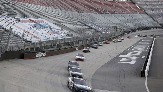 The stands at Bristol were empty for the June 1 NASCAR race but that's about to change as the circuit announces a plan for fans to return.
