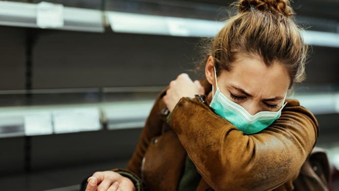 Those who suffer from allergies with symptoms of sneezing and runny nose can cause concern when out in public during the coronavirus pandemic.