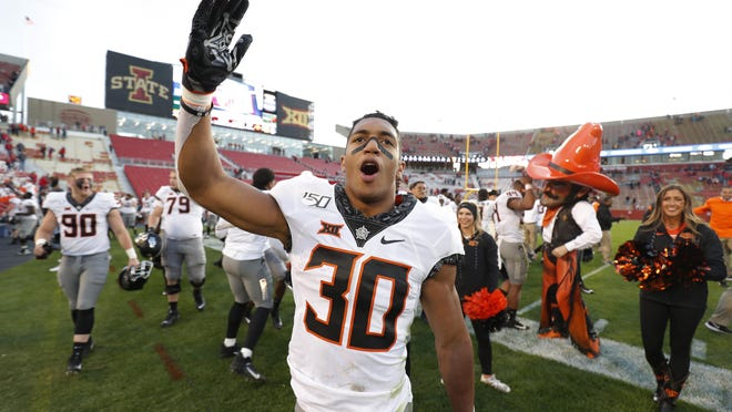 Oklahoma State running back Chuba Hubbard was the Big 12's offensive player of the year in 2019, but he has made the biggest impact in 2020 with his public comments during this summer's racial and social protests and unrest.