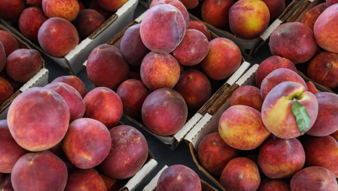 The Texas peach season is over, but the Colorado season is in full swing. The Northwest Austin Kiwanis club will have its annual September peach sale, with a Sept. 4 deadline for ordering.