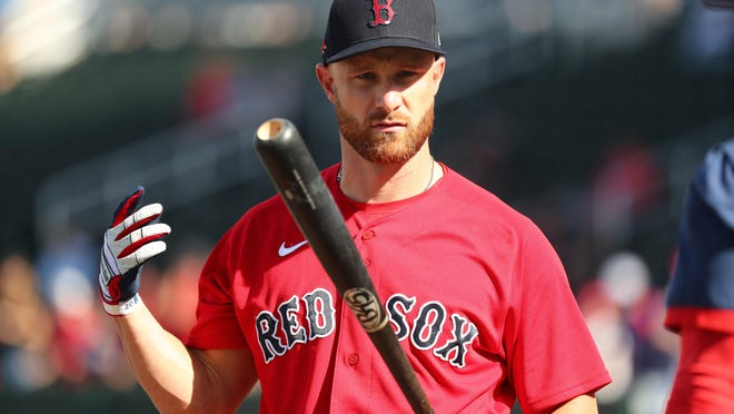Jonathan Lucroy could see time at first base as the Red Sox seek additional offense. Mandatory Credit: Kim Klement-USA TODAY Sports