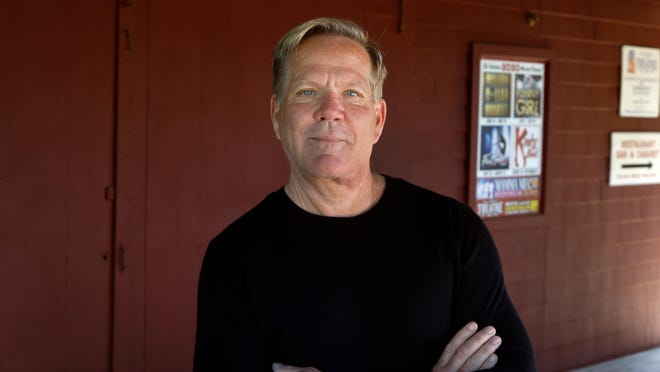 Bill Hanney, Theatre-by-the-Sea's current owner and producer, poses at the Matunuck theater, which is dark this season due to the coronavirus pandemic. He is optimistic about getting performances back on track in 2021.