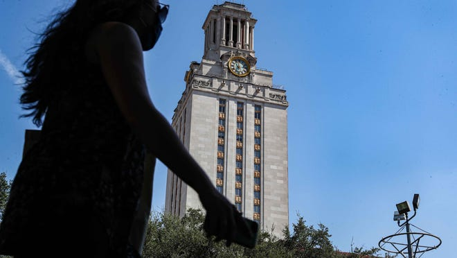 A lawsuit challenging the University of Texas over policies relating to speech can move forward after a federal appeals court held that a national free speech group has legal standing to pursue the case.