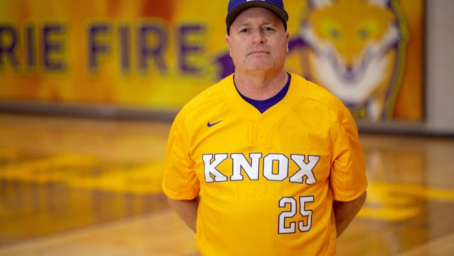 Knox College's Jami Isaacson is the winningest baseball coach in the school's history.