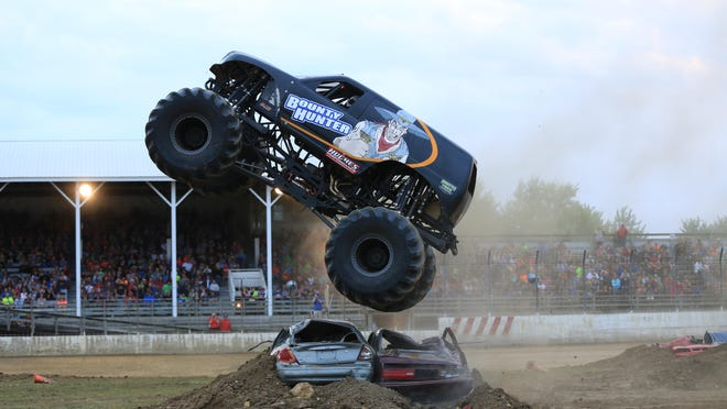 Bounty Hunter is a Kansas native and a two-time Monster Jam World Champion.
