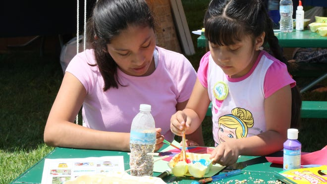 Previous years' on-site Macatawa Water Festival featured activities like crafts with an environmental theme. This year's festival will feature an assortment of dispersed events and activities to be shared on social media, spread over a week in mid-July.
