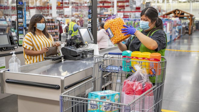 Walmart and Sam's Club will start requiring masks at stores and clubs nationwide starting Monday, July 20, the company announced Wednesday.