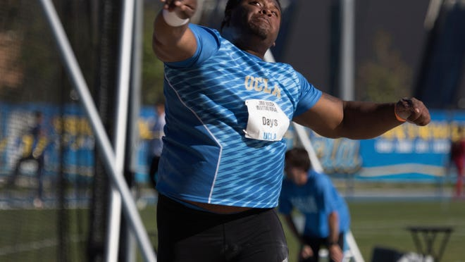 Bridgeton High School graduate Braheme Days Jr. spent a spring and winter track season redshirting for UCLA. Now, Days is trying to make his mark with the Bruins.