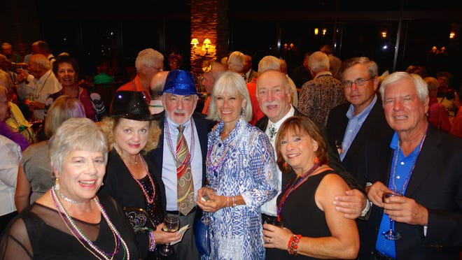 It was Mardi Gras time for guests at the Indian Wells Country Club.
