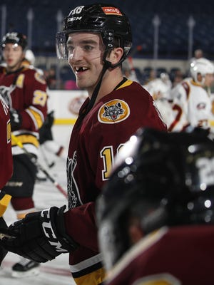 Chicago right wing Kenny Agostino, a Delbarton grad from Flanders, was named to the AHL All-Star Team.