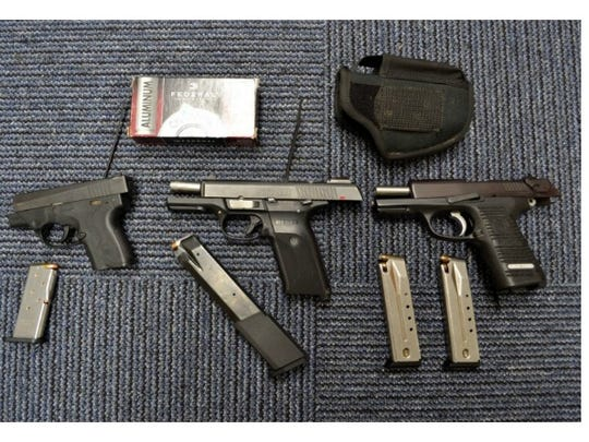 Weapons, drugs and items found by Springfield Police