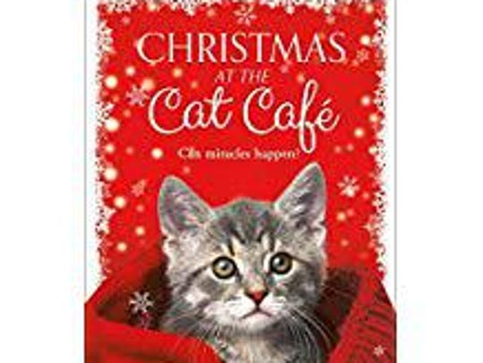 """Christmas at the Cat Café"" by Melissa Daley"