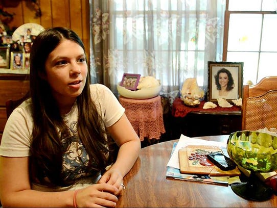 Kayla Hatley, 23, was 8 years old when her mother,