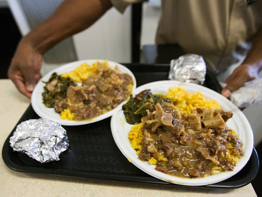 Traditional soul food is served at the Soul Bowl Cafe