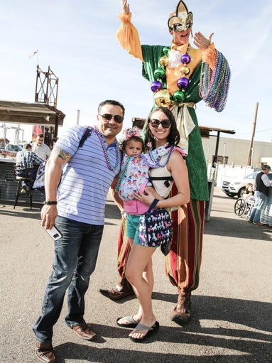contributed photo Chris Martinez (from left); Amelia Martinez, 14 months; Clarissa Martinez and Danny Kollaja
