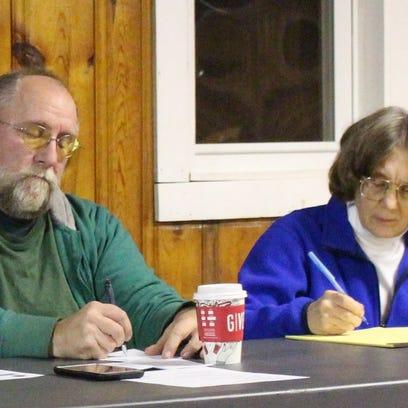 Panelists Bill Baker, a local environmental activist,