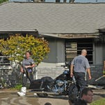 Fatal house fire on Ebony Street in Melbourne, Monday morning. A man's body was found inside the house.