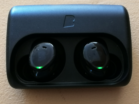The Bragi Dash lasts 3-4 hours on a charge. But the