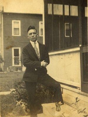 Ralph W. Hartman in Stuart, 1920s