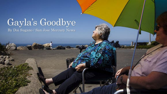 Gayla's Goodbye is the first in a series that was awarded a EPPY award (given out by Editor & Publisher) for Best Community Service.