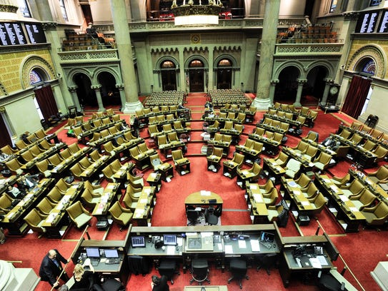 This Thursday, March 29, 2018 photo shows the Assembly