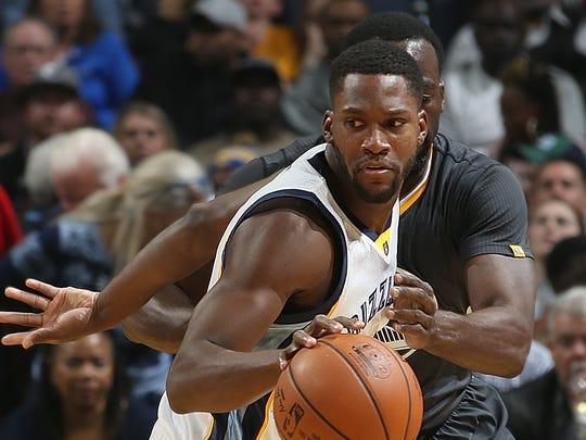 Memphis Grizzlies guard Toney Douglas.