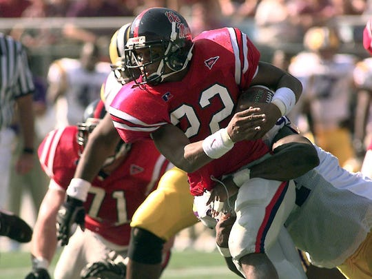 Deuce McAllister rushed for 3,060 yards and 37 touchdowns
