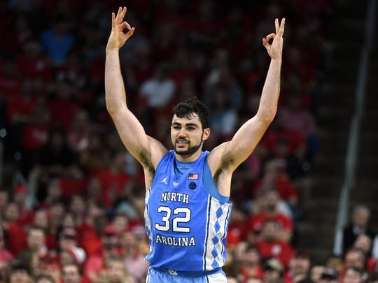 Third team: Luke Maye, forward, North Carolina.