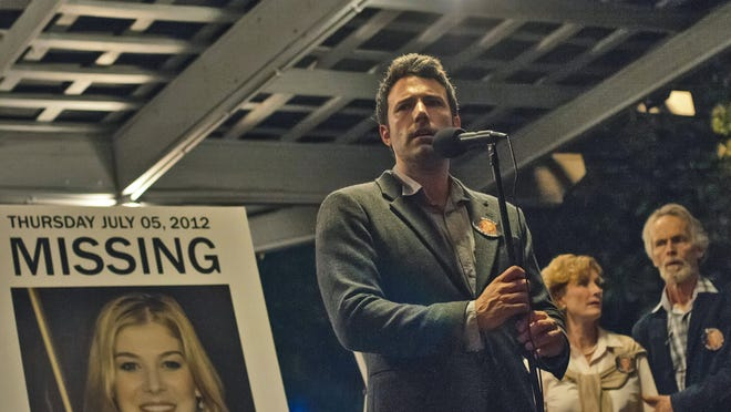 """Ben Affleck stars in the David Fincher-directed """"Gone Girl,"""" out Oct. 3."""