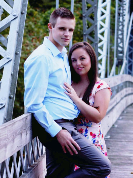 Katie McQuate and Cody Gehman are engaged to be married on June 4, 2016.