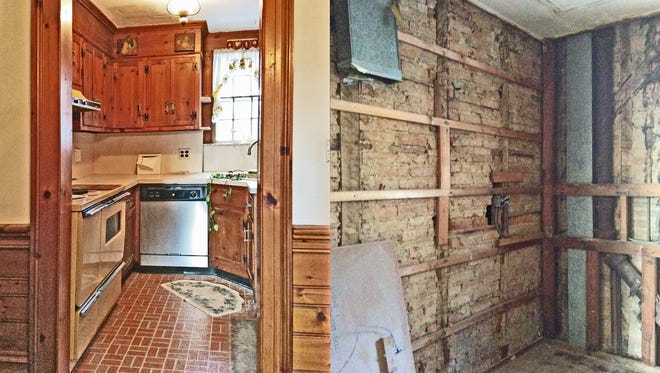 Interior renovations continue at Millburn's historic Parsil House.