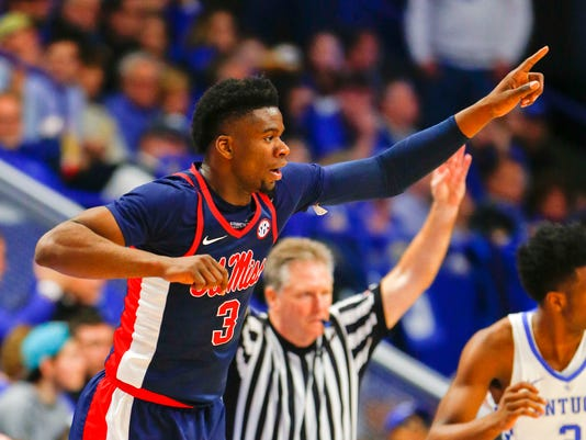 NCAA Basketball: Mississippi at Kentucky