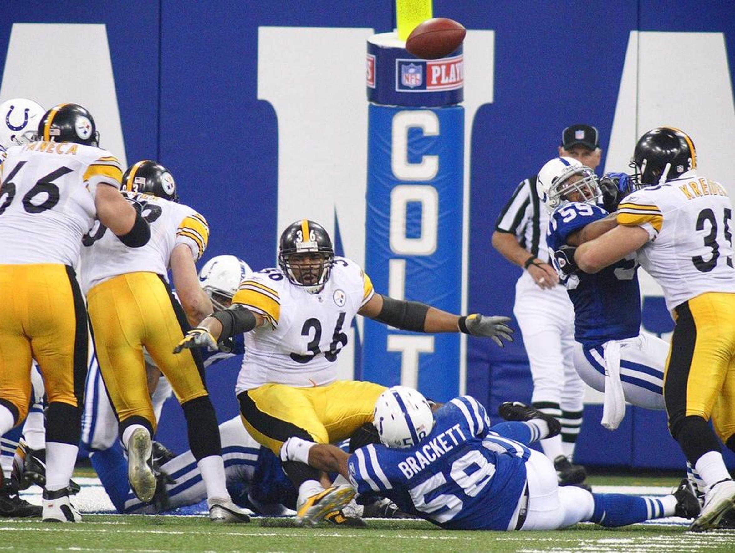 Jerome Bettis, playing his final NFL season, hadn't