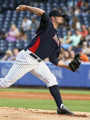 Dustin Molleken has 3.76 ERA in 38.1 innings with Toledo.
