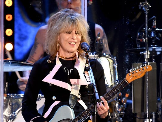 Chrissie Hynde, pictured in 2016, and the Pretenders