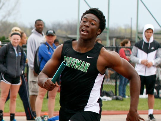 Dublin Coffman's Jeslord Boateng is a three-star prospect.