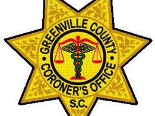 Greenville County Coroner's Office badge