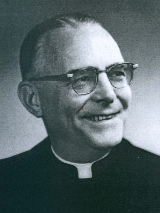Father Anthony Knackert of Holy Name Church