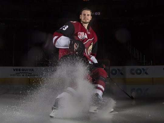 Coyotes defenseman Oliver Ekman-Larsson remains one