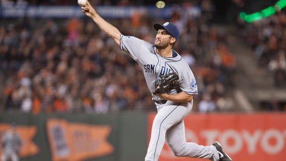 Padres relief pitcher Huston Street
