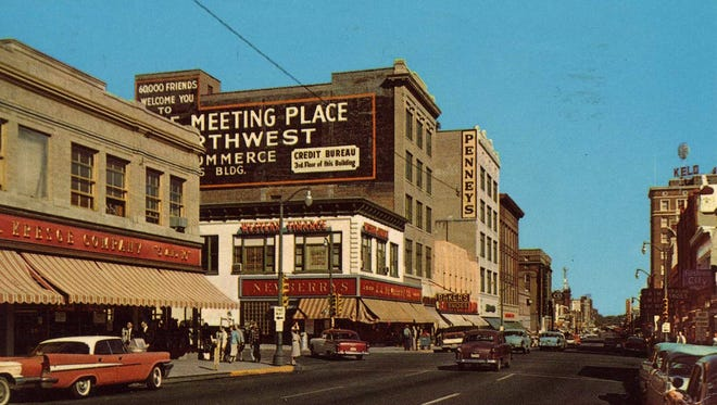 Newberry's was a downtown five-and-dime at 10th and Phillips.