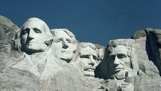 The Mount Rushmore Memorial finished 22nd in a recent survey of most-searched vacation destinations on TripAdvisor.