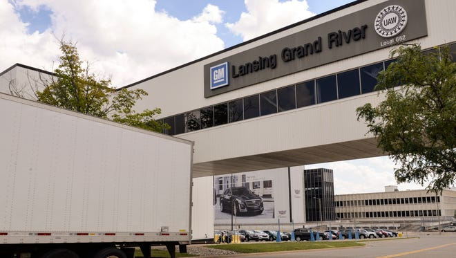 The Lansing Grand River Assembly Plant.