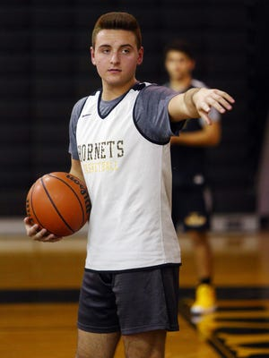 Hanover Park senior point guard Mike Boeckel is a four-year starter on a young team.