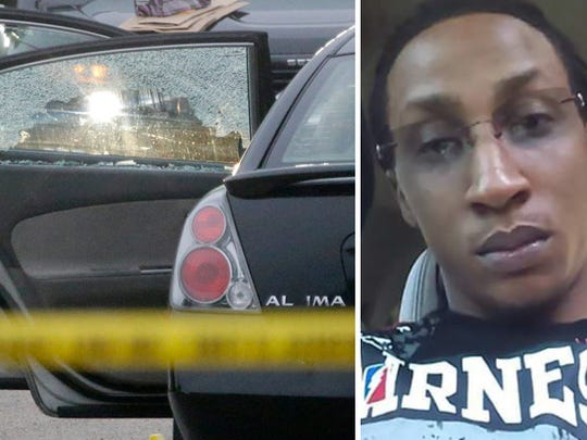 Jay Anderson (right) was fatally shot by a Wauwatosa police officer inside his car at Madison Park on June 23.