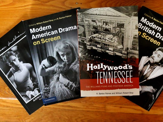 Some of the books written or coauthored by Robert Bray, the leading expert on Tennessee Williams.